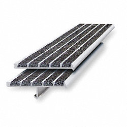 Stair Nosing, Black, Extruded Aluminum