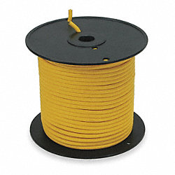 Portable Cord, SJTOW, 10/4, 250Ft, Yellow