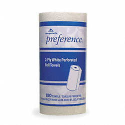 Paper Towel Roll, Preference, 100CT, PK30