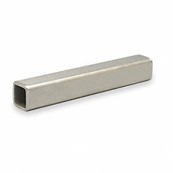 Square Shafting, 36 In L, 1X1 In Dia