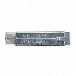 Utility Knife, 4 1/2In L, Retrct, PK12
