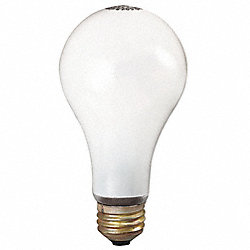 Incandescent Light Bulb, A19, 100/89W