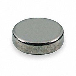 Disc Magnet, Rare Earth, 2.9 Lb, 0.375 In