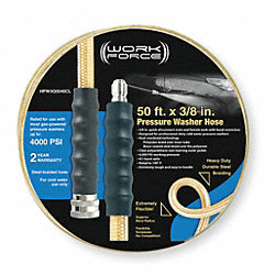 Hose Assy, 3/8 Quick Connect, 50Ft, Clear