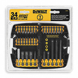 Impact Ready Driver Kit, 34 Pc