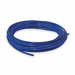 Tubing, 1/4 In OD, Nylon, Blue, 100 Ft