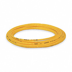 Tubing, 5/16 In OD, Nylon, Yellow, 100 Ft