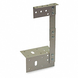 Wireway, Bracket Hanger, 6x6 Sq In, Gray