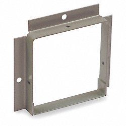 Wireway, Panel Adapter, 4x4 Sq In, Gray