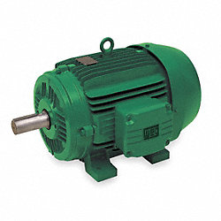 CT Motor, 15 HP, 1765 RPM, 208-230/460 V