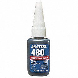 Instant Adhesive, 20g Bottle, Black