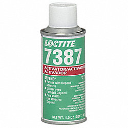 Activator, Aerosol Can, 4.50 Oz, Brown