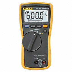 Digital Multimeter, 600V, 60 KOhms