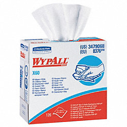 Disposable Wipes, 9-1/10 In x 16-4/5 In