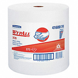 Wypall Wiper Rolls, 870 ft. L, White