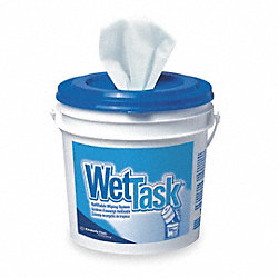 Dispsable Wipes, 12 In x 12-1/2 In, PK 360