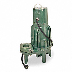 Effluent Pump, 1-1/2 HP, 3 Ph, 460 V, 4.6 A