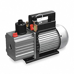 Evacuation Pump, 5.0 cfm, 1/3 HP, 6 ft.