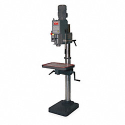 Gear Head Drill Press, Floor Model, 20 In