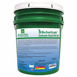 Bio-Food Grade Hydraulic Fluid, 5 Gal, 68
