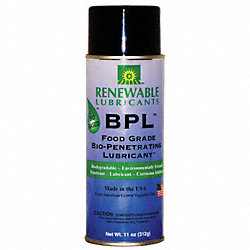 Bio-Penetrating Lube, BPL, 16 oz, Net 10 oz