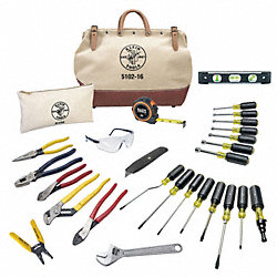 Electrician Tool Kit, 28 Pc