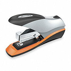 Flat Clinch Stapler, 70 Sheet, Blk/Silver