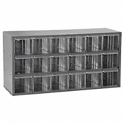 Cabinet, Parts Storage, 18 Compartments