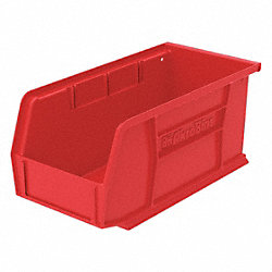 Stack & Hang Bin, 10-7/8 x 5-1/2 x 5, Red