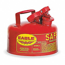 Type I Safety Can, 1 gal., Red, 8