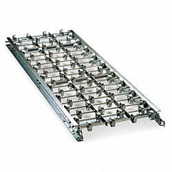 Skatewheel Conveyor, Straight, W 12 In