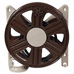 Wall Mount Hose Reel, Polypropylene
