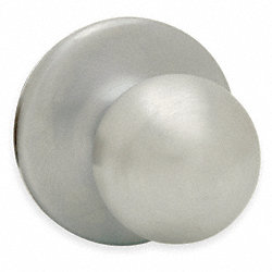 Knob Lockset Lockset, Satin Nickel