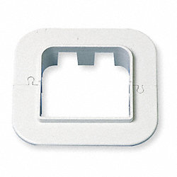 Wall Escutcheon, 6-1/2 In. L, 5-7/8 In. H