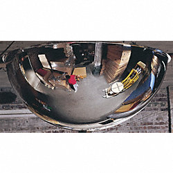 Full Dome Mirror, 24In., Steel
