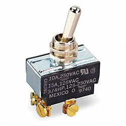 Toggle Switch, DPDT, On/Off/On