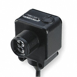 Photo Sensor, 18mm, 10-30VDC, CableSz 6.5Ft