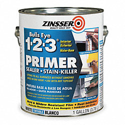 Stain Blocking Primer/Sealer, White, 1 gal