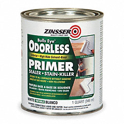Primer/Sealer Stain Killer, White, 1 qt.