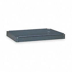 Service Cart Tray, 500 lb., Gray, 28 In. L