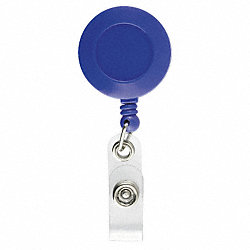 Retractable Reel, Blue, PK 5