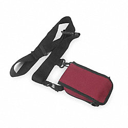 Belt Pouch, 5-3/4 In. H, 1-1/2 In D, Maroon