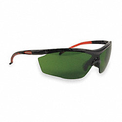 Safety Glasses, Shade 3.0 IR, Uncoated