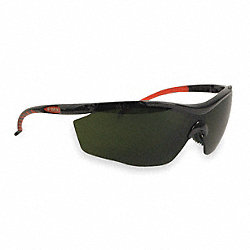 Safety Glasses, Shade 5.0 IR, Uncoated