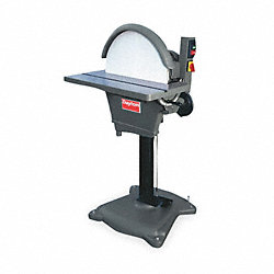 Disc Sander, 20 In, 2 HP, 240V, 1 Ph