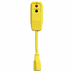 Cord Set, Right Angle, 120V, 15 Amps AC