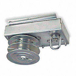 Hand Winch, Worm Gear, No Brake, 4000 lb.