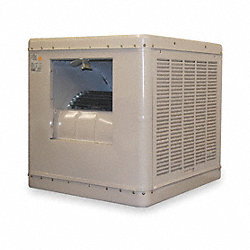 Ducted Evaporative Cooler, 6500 cfm, 3/4HP