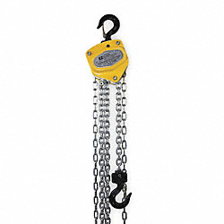 Hoist, Hand Chain, 1/2 Ton, 10 Ft Lift