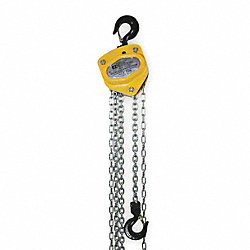 Hoist, Hand Chain, 1 Ton, 20 Ft Lift